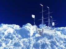 White ship Stock Photos