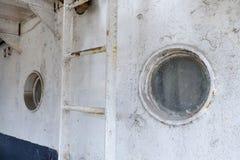 White ships door locked ship Royalty Free Stock Photos
