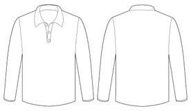 White shirt Royalty Free Stock Photo