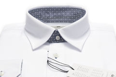 White shirt. Royalty Free Stock Image