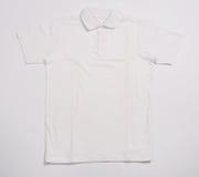 White shirt. On a white background Royalty Free Stock Photo