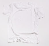 White shirt. On a white background Royalty Free Stock Photography