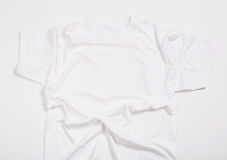White shirt. On a white background Stock Photography