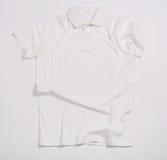 White shirt. On a white background Stock Photos