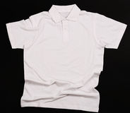 White shirt. On a black background Stock Photo