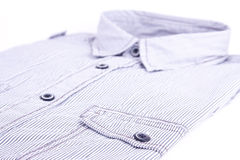 White shirt with black stripes Royalty Free Stock Images