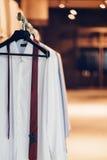 White shirt Royalty Free Stock Photos