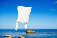 White shirt Royalty Free Stock Photography
