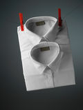 White shirt Stock Photography