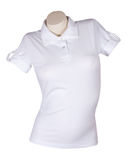 White shirt with short sleeves Royalty Free Stock Photos