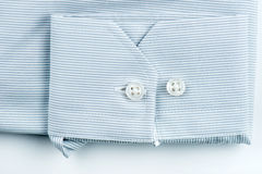 White shirt with stap details Royalty Free Stock Images