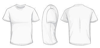Free White Shirt Template Royalty Free Stock Image - 75708246