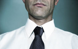 White Shirt and Tie Royalty Free Stock Image