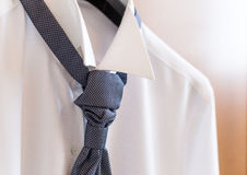 White shirt and tie Stock Image
