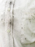 White shirts dirty. Grunge texture royalty free stock photo