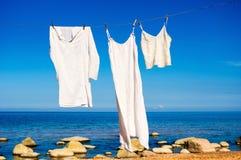 White shirts Stock Photos