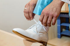 White shoe Royalty Free Stock Photo