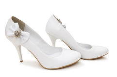 White shoes Stock Images