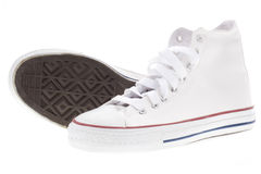 White shoes Stock Photography
