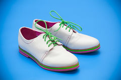White shoes Royalty Free Stock Image