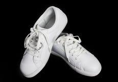 White shoes isolated. Stock Image