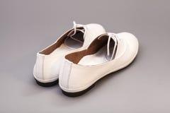 White Shoes Stock Photos