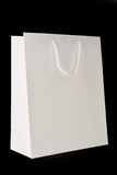 White Shopping Bag Stock Image