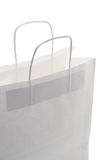 White shopping bag Stock Photography