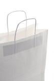 White shopping bag Stock Photography