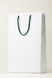White shopping bag. Stock Image