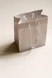 White shopping bag Royalty Free Stock Photography