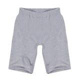 White shorts. Isolated on white background Royalty Free Stock Photography