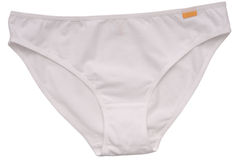 White shorts for woman Royalty Free Stock Photos