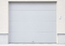 White shutter door Royalty Free Stock Photos