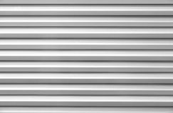 White shutter door Stock Photos