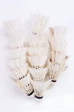 White shuttlecock Royalty Free Stock Images