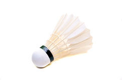 White shuttlecock Royalty Free Stock Photo