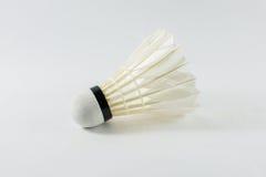 White shuttlecocks Stock Photo
