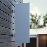 White signboard on the wall. 3d rendering Royalty Free Stock Image