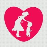 Happy Mothers Day celebration. Stock Photo