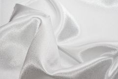 White silk Royalty Free Stock Images