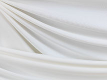 White silk background Royalty Free Stock Photography
