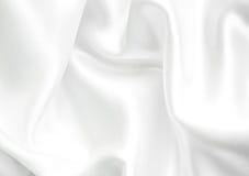 White silk background Stock Photos