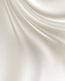 White Silk Backgrounds Stock Photos