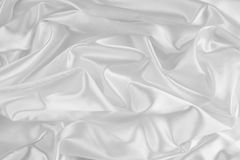 White silk Stock Photography