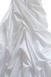 White silk dress Royalty Free Stock Photography
