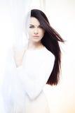 White silk Royalty Free Stock Image