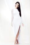 White silk Stock Photo