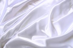 White silk texture Stock Image