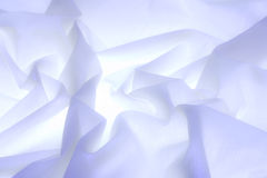 White silky fabric Stock Photos